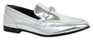 Gucci Loafers & Moccasins Silver Flats