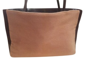 Max Mara Tote in Tan/Brown