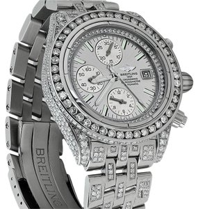 Breitling Breitling Evolution A13356 Silver Dial 15ct Diamond Watch