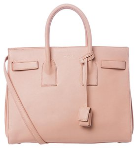 Saint Laurent Sac De Jour Ysl Satchel in Blush Pink