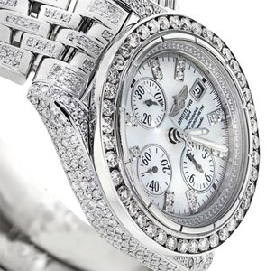 Breitling Breitling Evolution A13356 Mother of Pearl Dial 15ct Diamond Watch