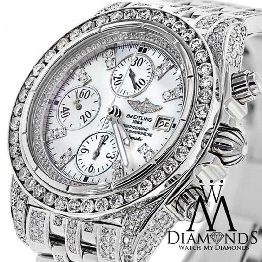 Breitling Breitling Evolution A13356 Mother of Pearl Dial 15ct Diamond Watch Image 1