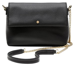 Banana Republic Leather Gold Hardware Gold Cross Body Bag