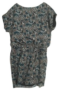 BCBGeneration short dress Multi-Color Bcbg Printed Blue on Tradesy