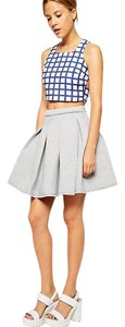 ASOS Mini Skirt Gray