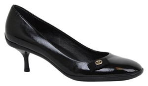 Gucci Patent Leather Classics Med-heel Black Pumps