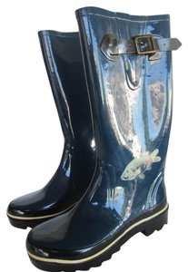 Kate Spade Blue Boots