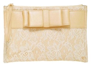 Adore! Wristlet in Gold & White