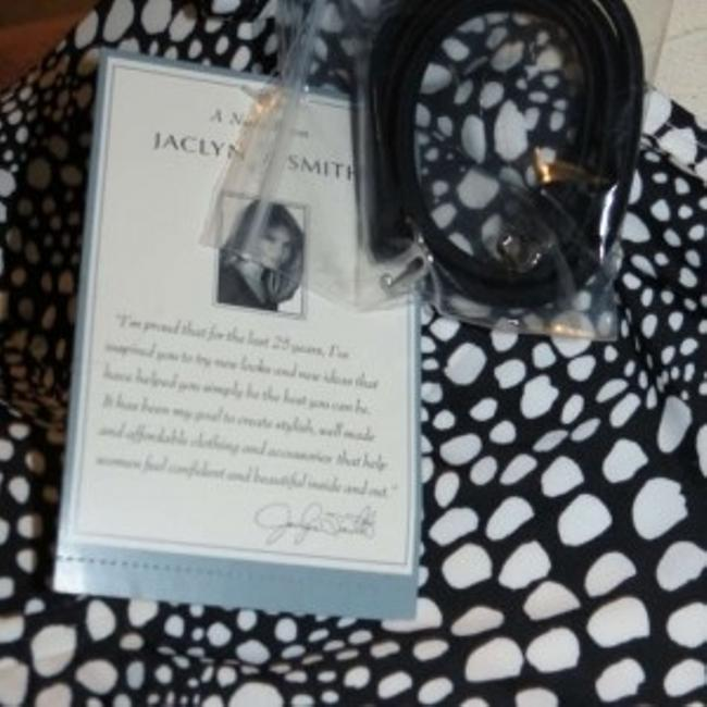 Jaclyn Smith New Misses Size 18 Jaclyn Smith Black/White