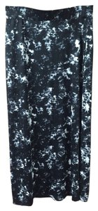 Mossimo Supply Co. Maxi Skirt Black and Whie Tie Dye