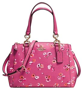 Coach F37421 Wildflower Carryall Satchel in IMITATION GOLD/DAHLIA MULTI