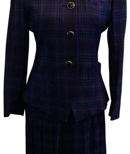 Kasper Purple Plaid