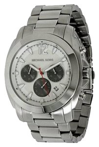 Michael Kors Men's Cameron Silver Stainless Steel Watch MK8242
