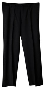 Hugo Boss Mens Striped Detailing Regular Fit Trouser/Wide Leg Jeans-Dark Rinse
