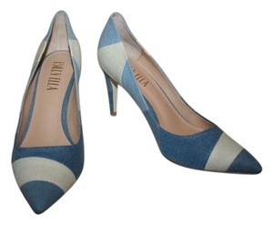 Anthropologie Denim Pumps