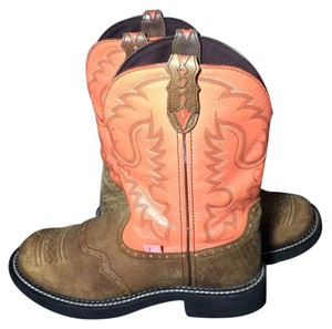 Justin Boots Justin Gypsy 10 Justin Cowgirl 10 Size 10 Cowgirl 10 Pink Boots