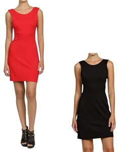 French Connection short dress Red Gameday on Tradesy