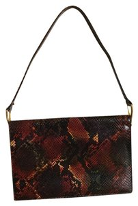 Charles Jourdan Vintage Snake Shoulder Bag