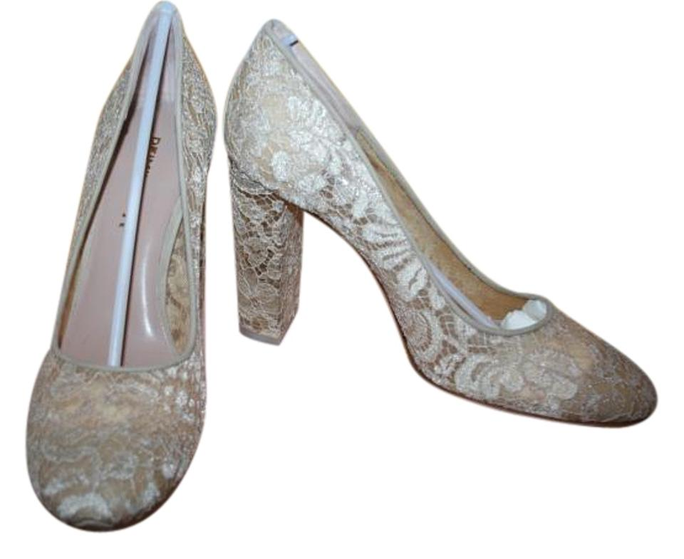 the latest a19d1 d9fbc Anthropologie Nude Romance Deimille Lace Heels 40eu (10m Us) Pumps Size US  10 Regular (M, B) 55% off retail