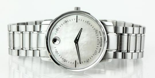 Movado Movado 39.3.14.1210 Diamonds Mother of Pearl Dial Ladies Watch Image 7