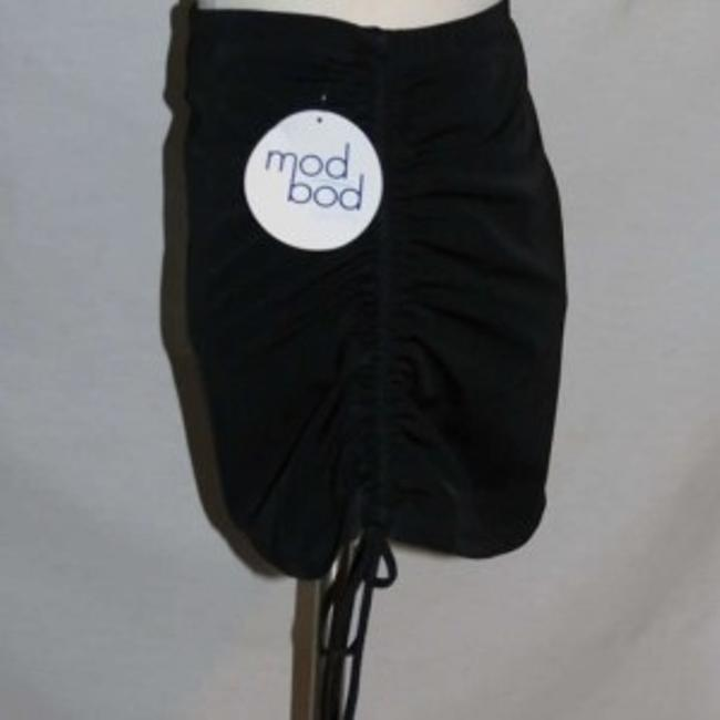 Mod Bod Swim New Size 16 Mod Bod Swin Black Rouched Skirt with Bottoms