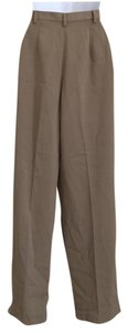 Rafaella Straight Pants Brown