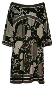 BCBGMAXAZRIA short dress multicolor Abstract Print Bell Sleeves on Tradesy