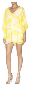 BCBGeneration Yellow V-neck Dress