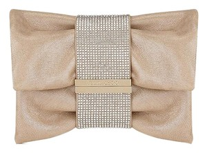 Jimmy Choo Evening Crystals Gold Clutch