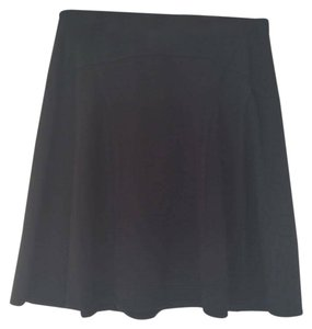 Max Studio A-line Office Skirt Black