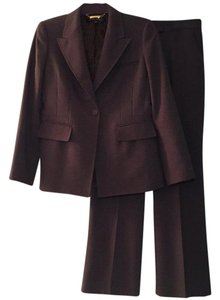 Anne Klein ANNE KLEIN PANTS SUIT Dark Gray Size 4P