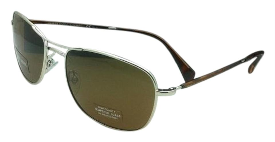 67b1b82c0e05 Giorgio Armani Ga 860 S 3yghk Light Gold W  Brown Grey Lenses 860 S Aviator  W Brown Sunglasses