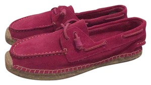 Sperry Fuchsia Flats