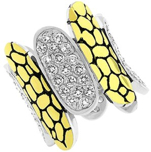 Other Cubic Zirconia Cobblestone Ring [SHIPS NEXT DAY]