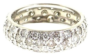 BEST PRICE - 14k gold 2 cts diamond eternity band bridal wedding