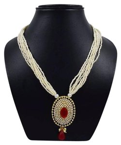 New Authentic Indian Wedding Necklace & Earring Set