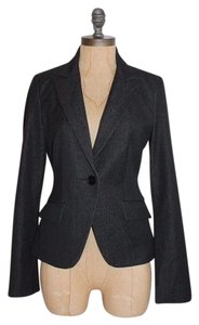 Express Fitted Stretchy BLACK Blazer