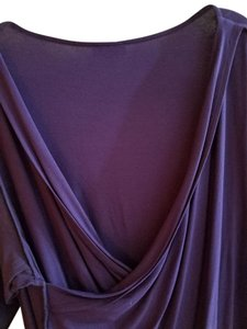 Vince Camuto Top purple-eggplant