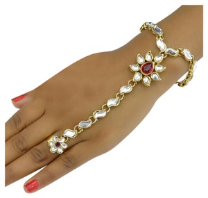 New Authentic Indian Panja Adjustable Ring Bracelet