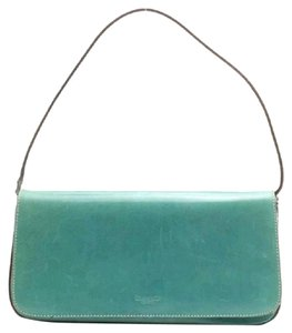Kate Spade Teal Leather Shoulder Bag