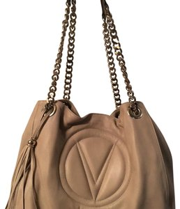 Versace Tote in Taupe