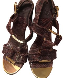 Tory Burch Brown Platforms
