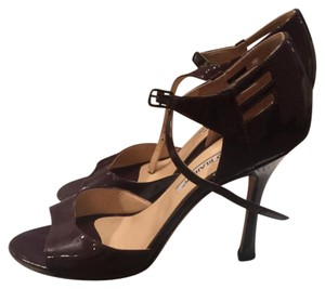 Manolo Blahnik Brown Formal