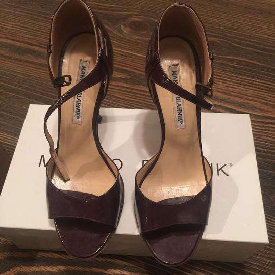 Manolo Blahnik Brown Formal Image 1