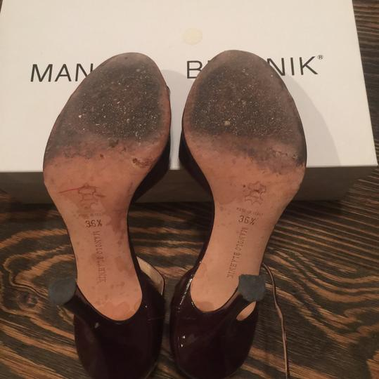 Manolo Blahnik Brown Formal Image 2