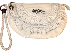 Betsey Johnson Wristlet in Cream