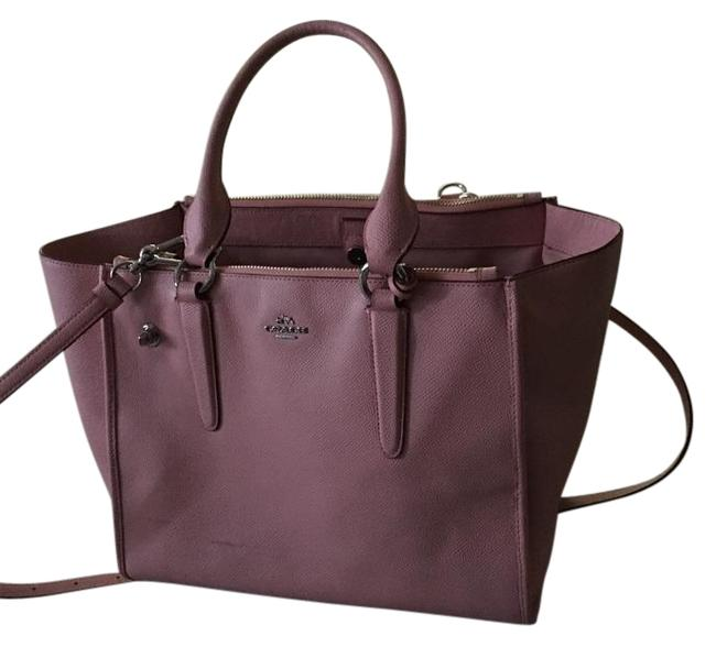 Item - Carryall Crosby Pink Leather Satchel
