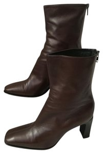 Anne Klein Midcalf Boot Brown Boots