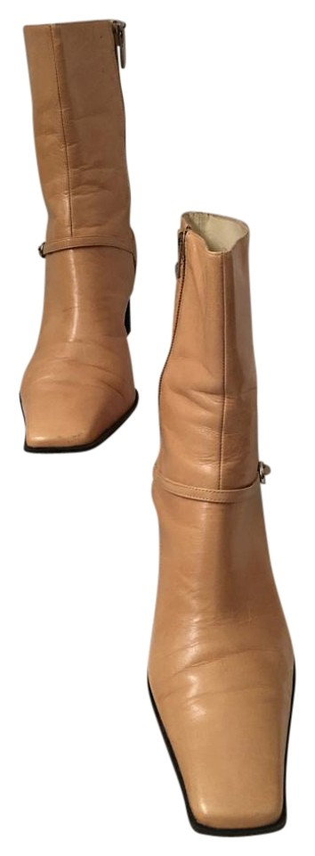 Nine West Camel Square Midcalf Toe Midcalf Square Boots/Booties 2d4d0f