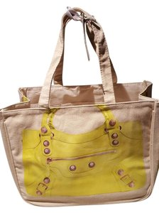 Thursday Friday Canvas Popular Durable Tote in Yellow